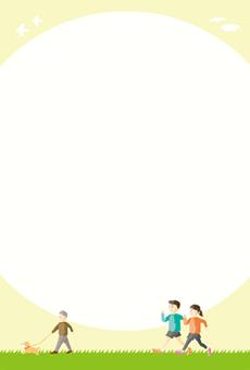 DMはがき通信面_デザインテンプレート画像0254