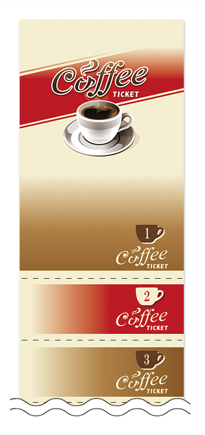 コーヒー回数券デザインテンプレート画像0001