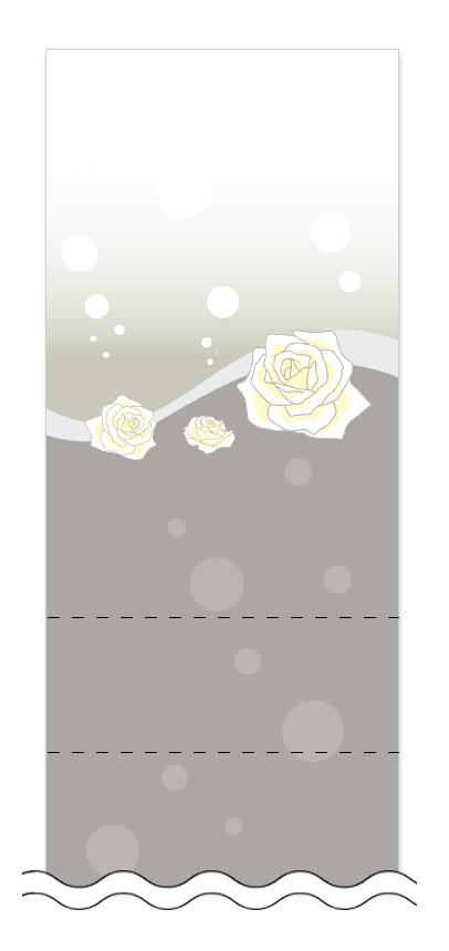 フリーデザイン「美容・ビューティー」回数券テンプレート画像0008