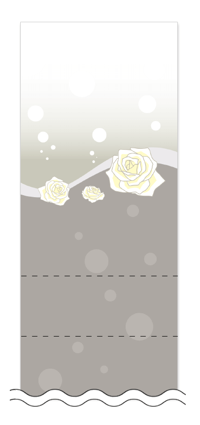 美容・ビューティーの回数券 6枚綴りデザインテンプレート0008