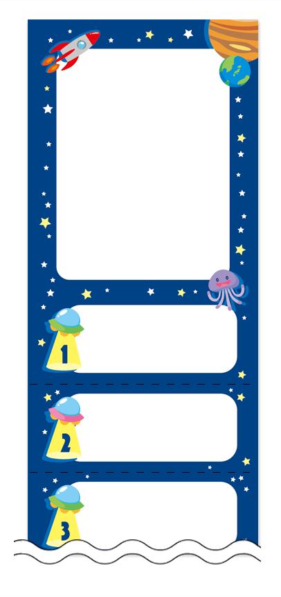 フリーデザイン「夏・涼・星空・ホタル」回数券テンプレート画像0039