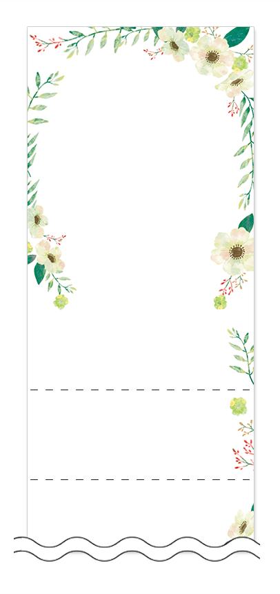 フリーデザイン「美容・ビューティー」回数券テンプレート画像0102