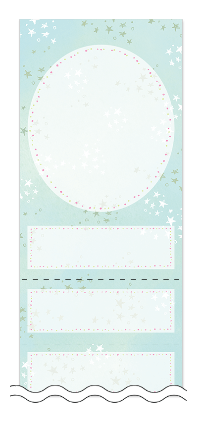 美容・ビューティーの回数券 6枚綴りデザインテンプレート0114