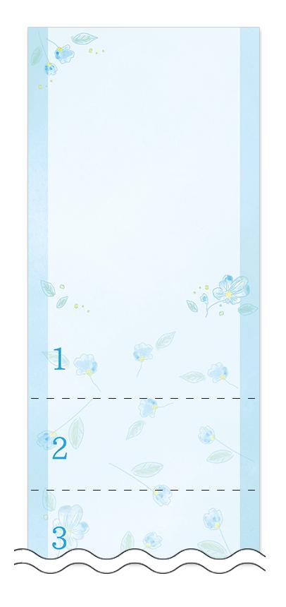 美容・ビューティーの回数券 6枚綴りデザインテンプレート0117