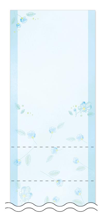 美容・ビューティーの回数券 6枚綴りデザインテンプレート0118