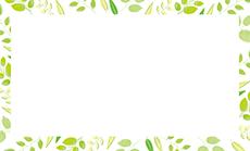 お花・花束・植物 ビジネス名刺のデザインテンプレート