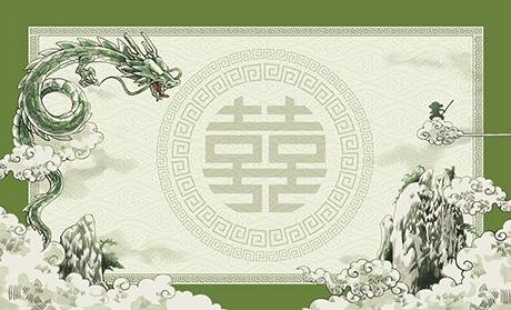 中華料理 ビジネス名刺のデザインテンプレート