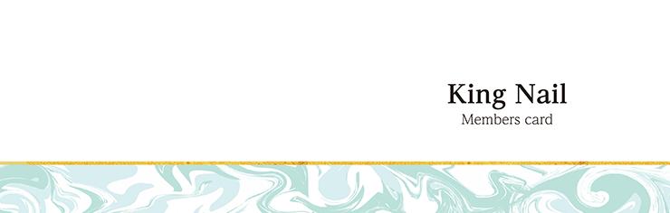 ショップカード 2つ折り_オモテ面(美容)デザインテンプレート0066
