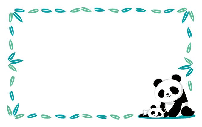 ショップカード(動物園)のデザインテンプレート