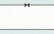 ショップカード(ハート・リボン・ドットなど)のデザインテンプレート