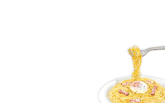 ショップカード(洋食・西洋料理)のデザインテンプレート