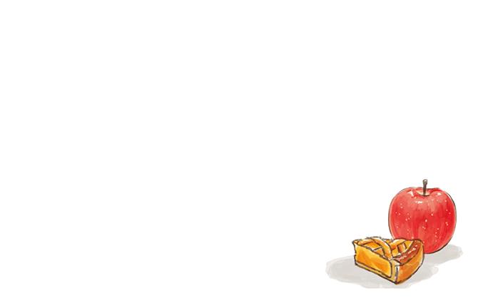 ショップカード(パン・スイーツ)のデザインテンプレート