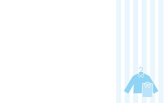 ショップカード(クリーニング・Yシャツ)のデザインテンプレート