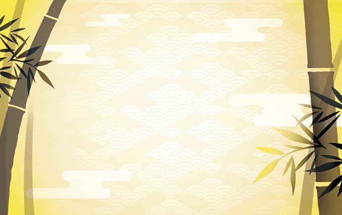ショップカード(チャイニーズ)のデザインテンプレート