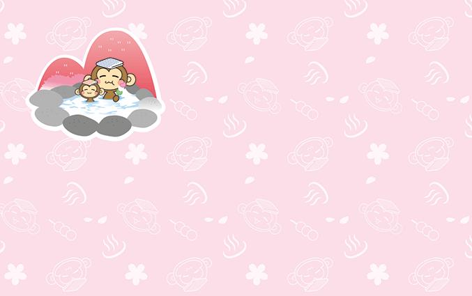 ショップカード(温泉・銭湯・入浴施設)のデザインテンプレート