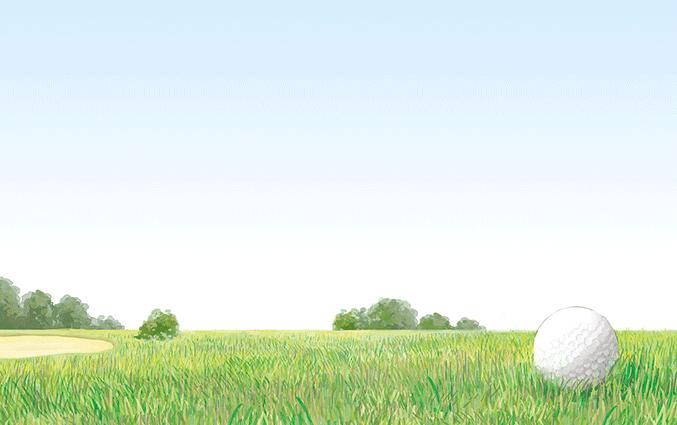 ショップカード(ゴルフ場・ゴルファー)のデザインテンプレート