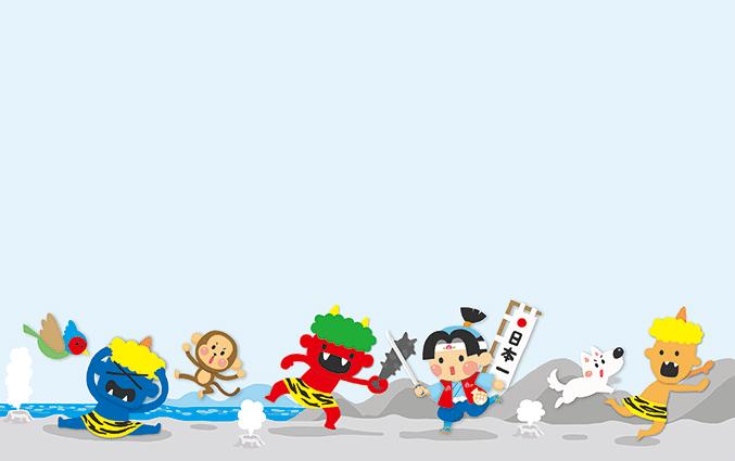 ショップカード(こどもの日・昔話)のデザインテンプレート
