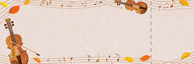 ピアノ・バイオリンなどのチケットSデザインテンプレート0014