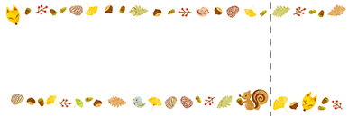 秋・ハロウィーン・紅葉・お月見・イベントのチケットのデザインテンプレート(チケットのデザイン(TS-D-0060))
