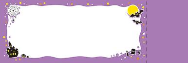秋・ハロウィーン・紅葉・お月見・イベントのチケットのデザインテンプレート(チケットのデザイン(TK-D-0063))