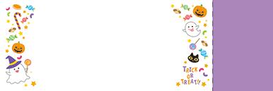 秋・ハロウィーン・紅葉・お月見・イベントのチケットのデザインテンプレート(チケットのデザイン(TS-D-0067))