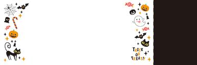 秋・ハロウィーン・紅葉・お月見・イベントのチケットのデザインテンプレート(チケットのデザイン(TS-D-0068))