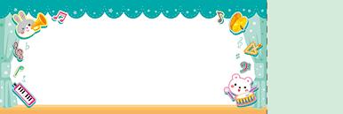 子供・親子・ファミリーチケットSのデザインテンプレート0076