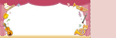 子供・親子・ファミリーチケットSのデザインテンプレート0077
