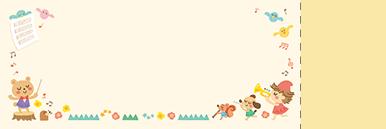 子供・親子・ファミリーチケットSのデザインテンプレート0085