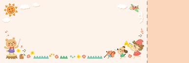 子供・親子・ファミリーチケットSのデザインテンプレート0086