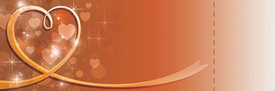 季節・行事・記念日(バレンタインデー・ホワイトデー)チケットSのデザインテンプレート0126