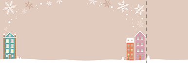 季節・行事・記念日(冬・クリスマス・お正月・初日の出)チケットSのデザインテンプレート0186