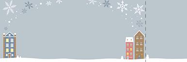 季節・行事・記念日(冬・クリスマス・お正月・初日の出)チケットのデザインテンプレート