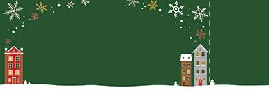 季節・行事・記念日(冬・クリスマス・お正月・初日の出)チケットSのデザインテンプレート0188