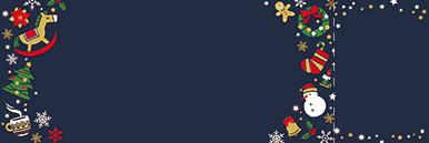 季節・行事・記念日(冬・クリスマス・お正月・初日の出)チケットSのデザインテンプレート0192