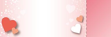 季節・行事・記念日(バレンタインデー・ホワイトデー)チケットSのデザインテンプレート0209