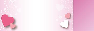 季節・行事・記念日(バレンタインデー・ホワイトデー)チケットSのデザインテンプレート0210