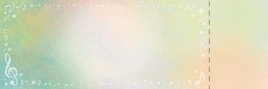 コンサート・イベントのチケットのデザインテンプレート(チケットのデザイン(TK-D-0289))