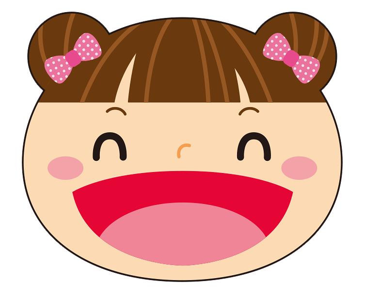 紙うちわ 動物(パンダ・たぬき)デザインテンプレート0023