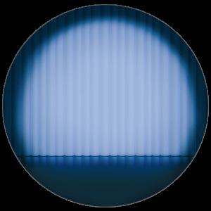 紙うちわ(丸型)デザインテンプレート0265