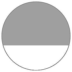 紙うちわ 丸型(無地)デザインテンプレート0001