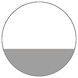 紙うちわ 丸型(無地)デザインテンプレート0002