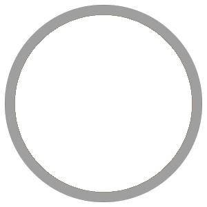 紙うちわ 丸型(無地)デザインテンプレート0006
