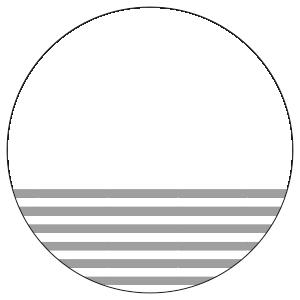 紙うちわ 丸型(無地)デザインテンプレート0008