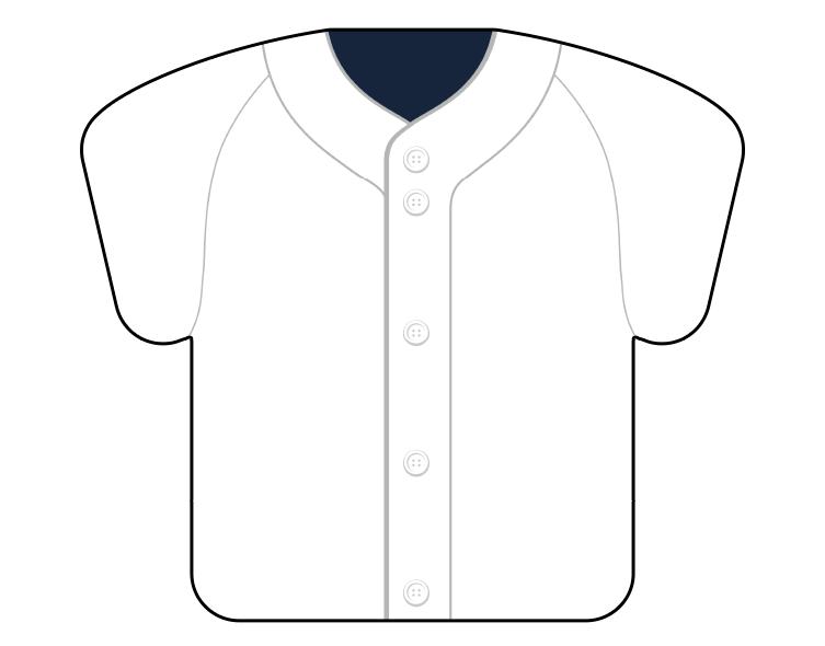 紙うちわ(野球)デザインテンプレート0056