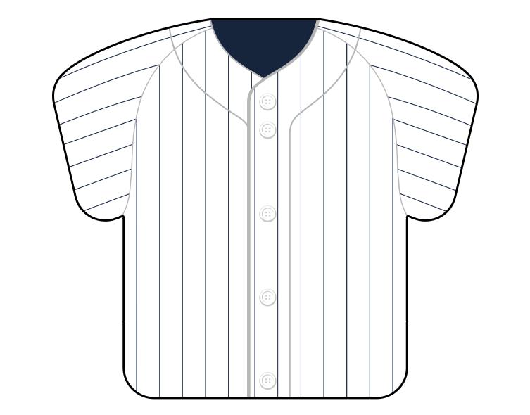 紙うちわ(野球)デザインテンプレート0057