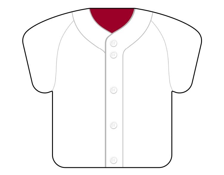 紙うちわ(野球)デザインテンプレート0058