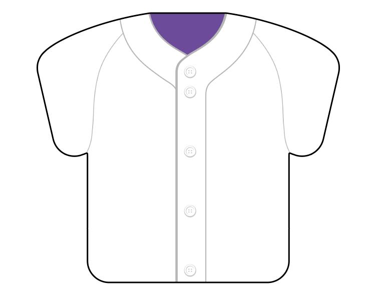 紙うちわ(野球)デザインテンプレート0059