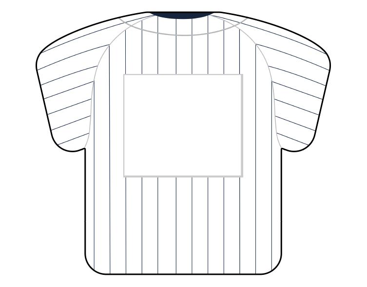 紙うちわ(野球)デザインテンプレート0061