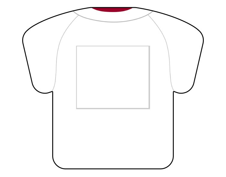 紙うちわ(野球)デザインテンプレート0062